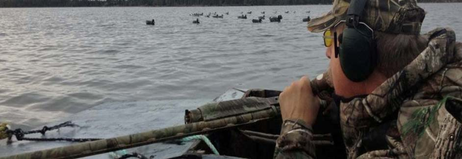 canada duck hunting