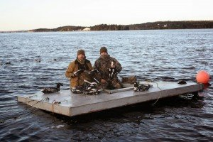 sink box duck hunts in Nova Scotia