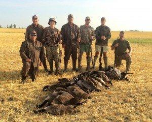 north dakota goose hunt flocked up_7368 copy
