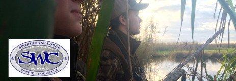 Louisiana Duck Hunting – Coastal Marsh at Venice