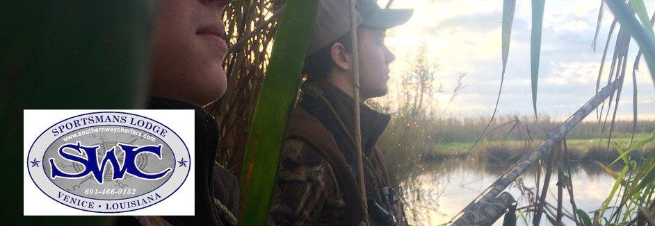 louisiana duck hunt