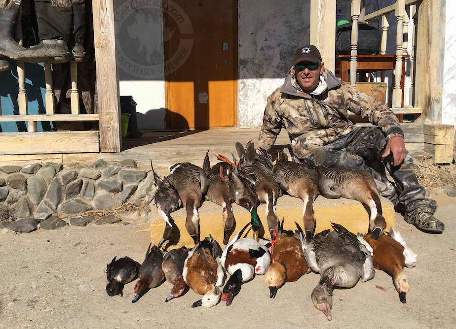 waterfowl hunting mongolia