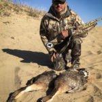 swan goose hunting in Mongolia