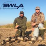 Louisiana goose hunts