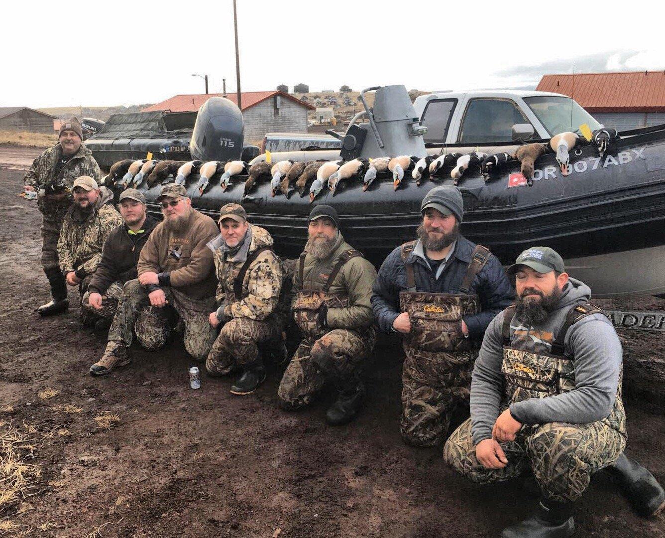 king eider hunting alaska