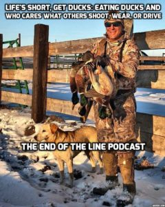 RAMSEY RUSSELL ON EATING DUCKS AND BEING COOL END OF THE LINE PODCAST