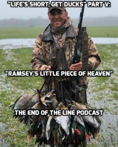 RAMSEY RUSSELL LITTLE PIECE OF HEAVEN END OF THE LINE PODCAST