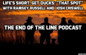 RAMSEY RUSSELL SPECIAL HUNTING SPOTS END OF THE LINE PODCAST