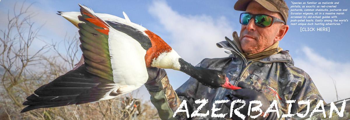 AZERBAIJAN DUCK HUNTS