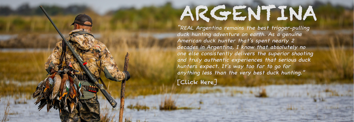 ARGENTINA DUCK HUNTS