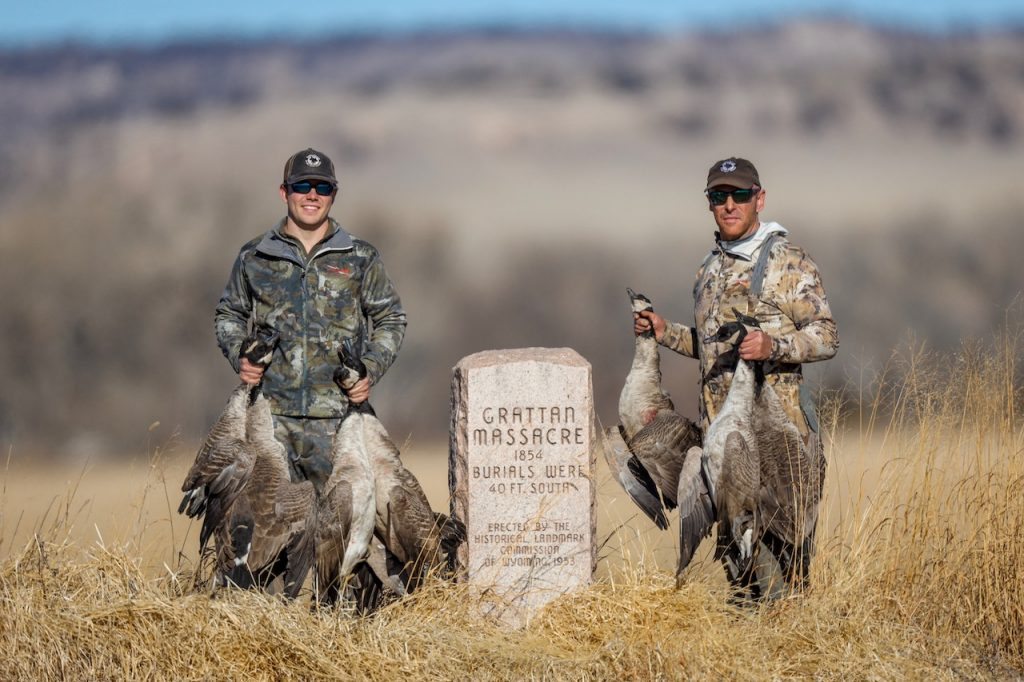 wyoming goose hunts