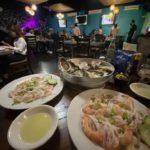 Mexico duck hunt local sea food
