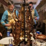 Azerbaijan Duck Camp Meal