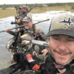 duck hunt argentina remote swamp