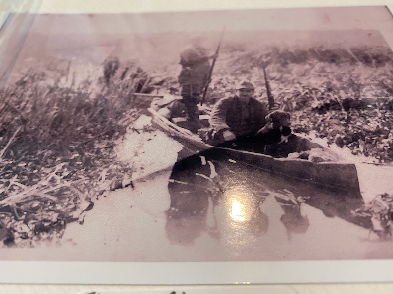 florine pie champagne duck hunting louisiana early 1900s